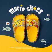 【子供靴】夏 スリッパ  女の子男の子サンダル 3色  かわいい スタイリッシュ カジュアル系  キッズ靴