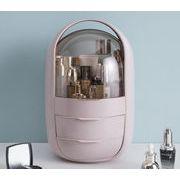 2021新入荷 高級品質 化粧品 防塵 防塵 家庭用 デスクトップ 収納ボックス 化粧道具入れ 大容量