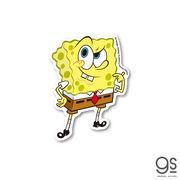 スポンジ・ボブ hmm… キャラクターステッカー アメリカ アニメ SpongeBob SPO003 gs 公式グッズ 2021新作