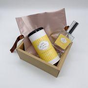 【ギフトボックス】4種の香りから選べる〈パフューム・サニタイザー・バニラ〉植物性ウイルス対策スプレー
