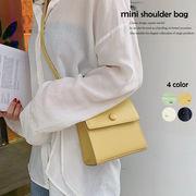 フェイクレザーミニバッグ ショルダーバッグ レディース 斜めがけバッグ 肩掛け 鞄 上品質 即納
