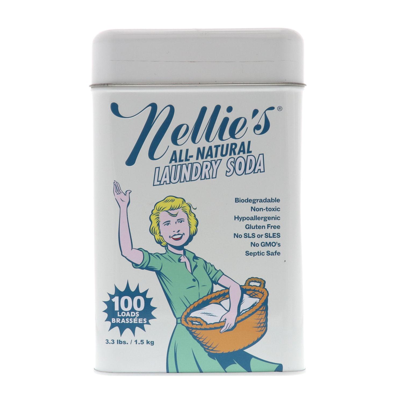 ネリーズオールナチュラルランドリーソーダ缶1.5KG