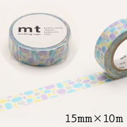 mt プール・ブルー マスキングテープ 15mm×10m