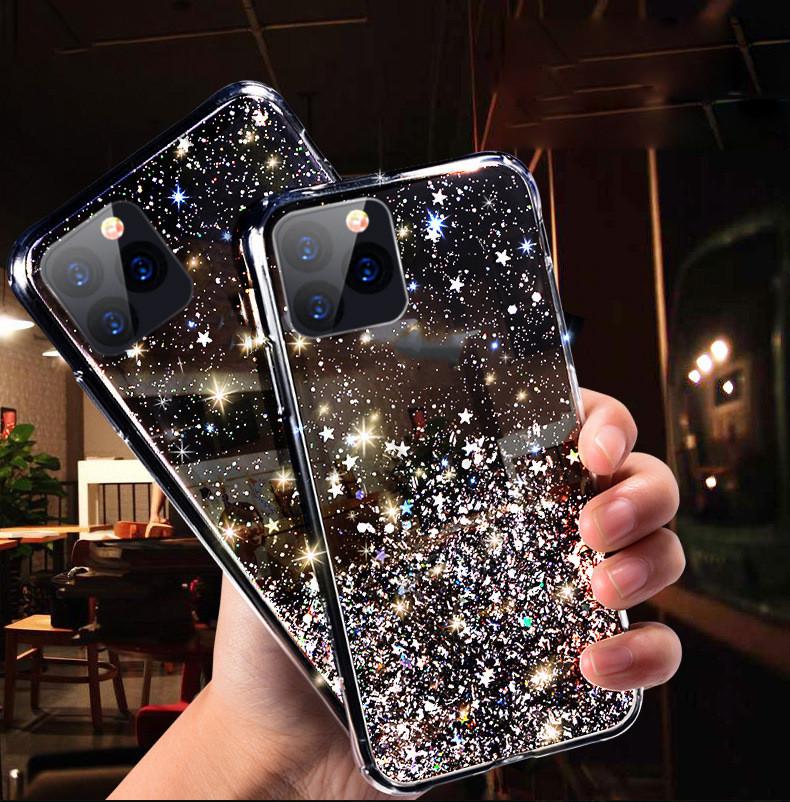 iPhone12ケース きらきらラメ入り グリッター人気 アイフォン12  iPhone11 ケース