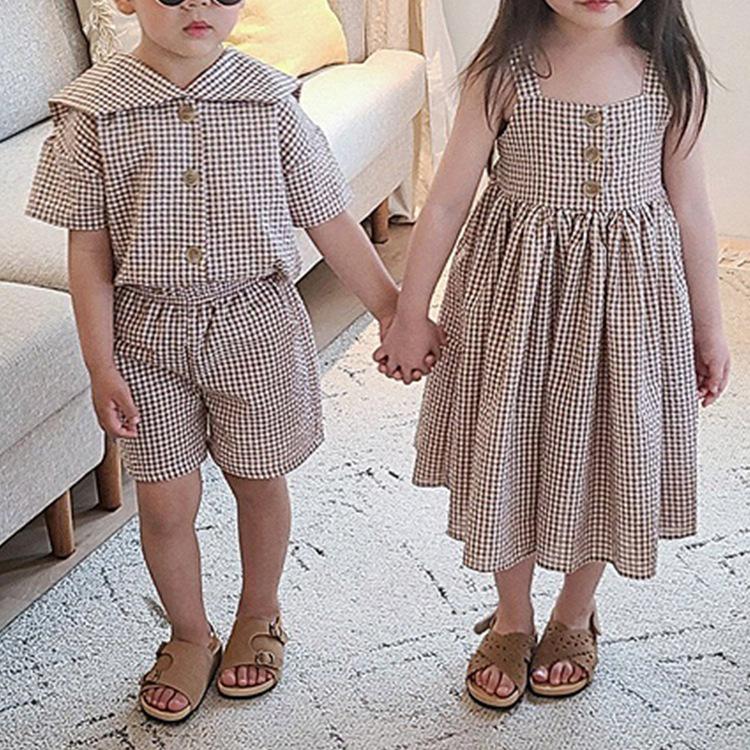春夏新作キッズスーツ キッズワンピース  カジュアル 女の子スカート