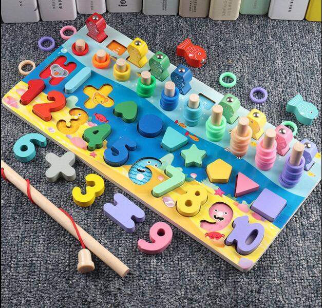 知育玩具  積み木 おもちゃ・ホビー   遊びもの 木製  子供用品  新作