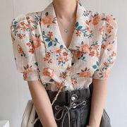 韓国風 可愛い Yシャツ 着痩せ 2021年春夏