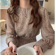 韓国ファッション 大人気アイテム レオパード柄ワンピ