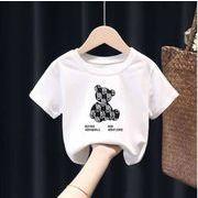2021新作  子供服  純綿  Tシャツ  女の子  上着  半袖  アニメ  かわいい