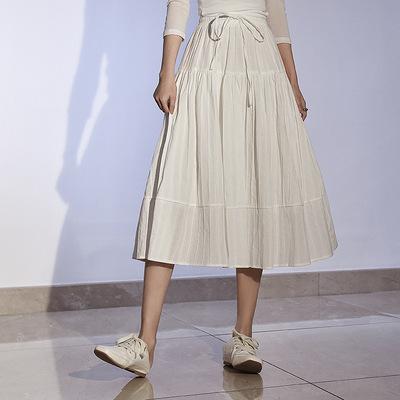 2021年春夏新作 レディース 韓国風 スカート カジュアル 通勤 ファッション 4色フリー