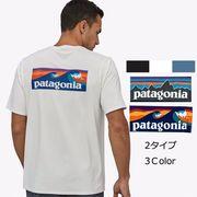 パタゴニア Tシャツ トップス メンズ ポケット Patagonia Men's T-Shirt Black