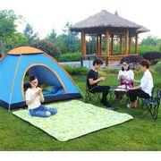 今季絶対ゲットしたい テント アウトドア 3-4人 全自動 キャンプ キャンプ テント テント 2人 シングル