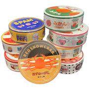 マスキングテープ 缶詰風♪8種類アソート  メモ 手帳 ノートに♪