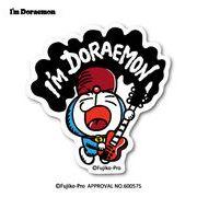 ドラえもん ステッカー I'm DORAEMON ロック LCS-739 キャラクター 人気 公式