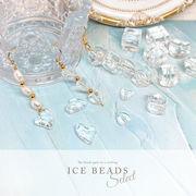 1個約0.3円~ 大容量パック【ICE BEADS SELECT -アイスビーズ セレクト- 5種】 ピアス アクセサリー