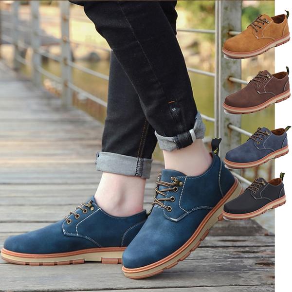 【即納】ブーツ メンズ メンズブーツ  シューズ  チャッカブーツ ワークブーツ ★4色