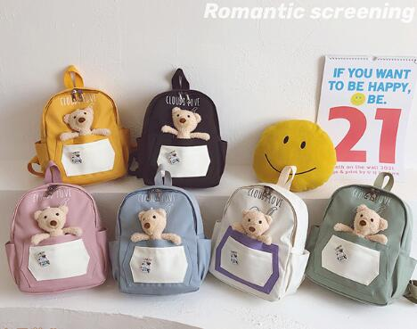 バッグ 鞄 カバン リュック キッズ 子ども かわいい アニメ クマ トレンド おしゃれ