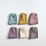 2021年夏新作 子供服 キッズ ベビー服 韓国風 パンツ レギンス ズボン 6色66-90