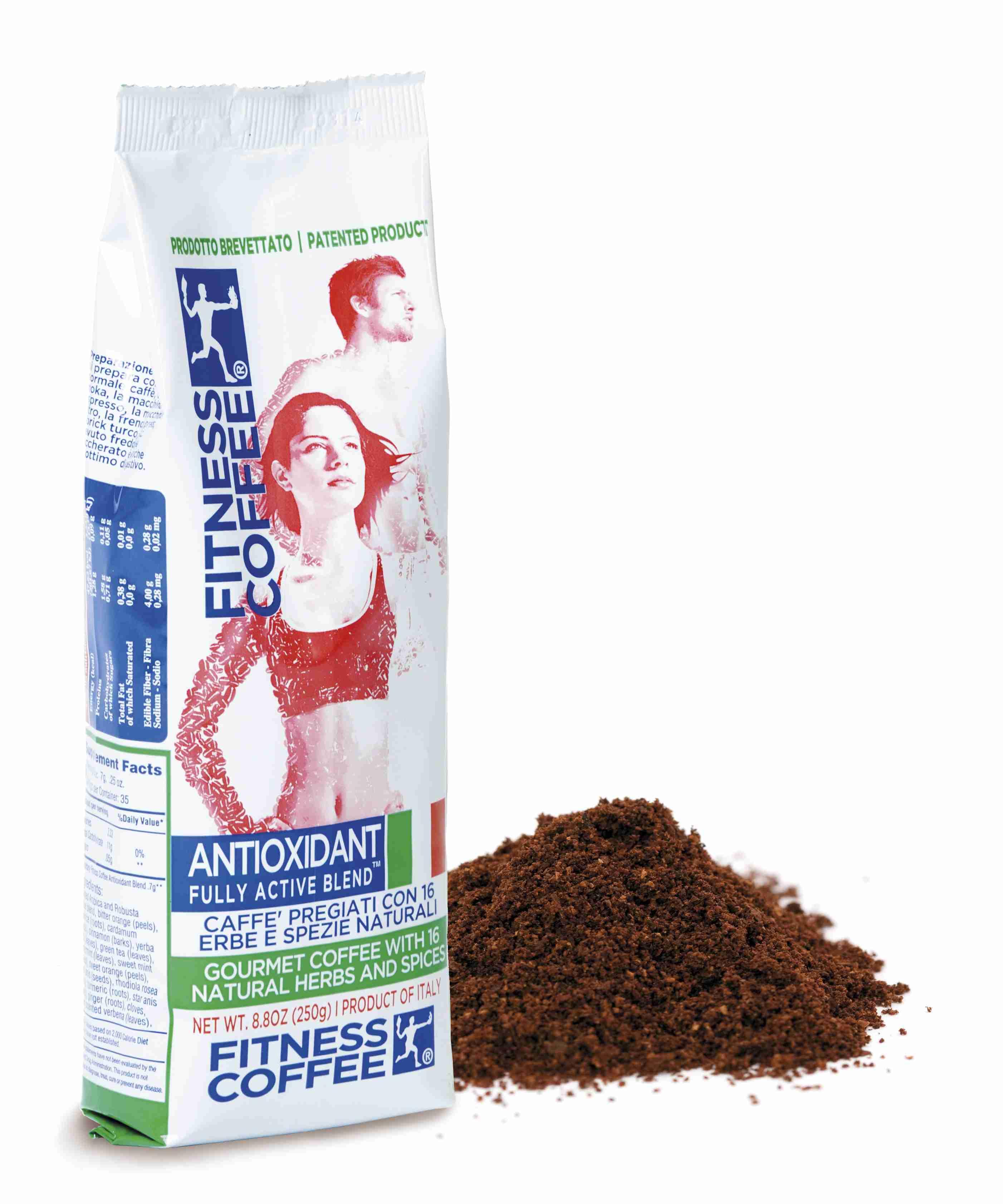 厳選した良質豆をはじめとする16種類のハーブ&スパイス配合のフィットネスコーヒー