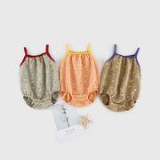 ベビーワンピース女性の2021年夏スリング新生児ベビーファートベビー服韓国版国内子供服スーツ