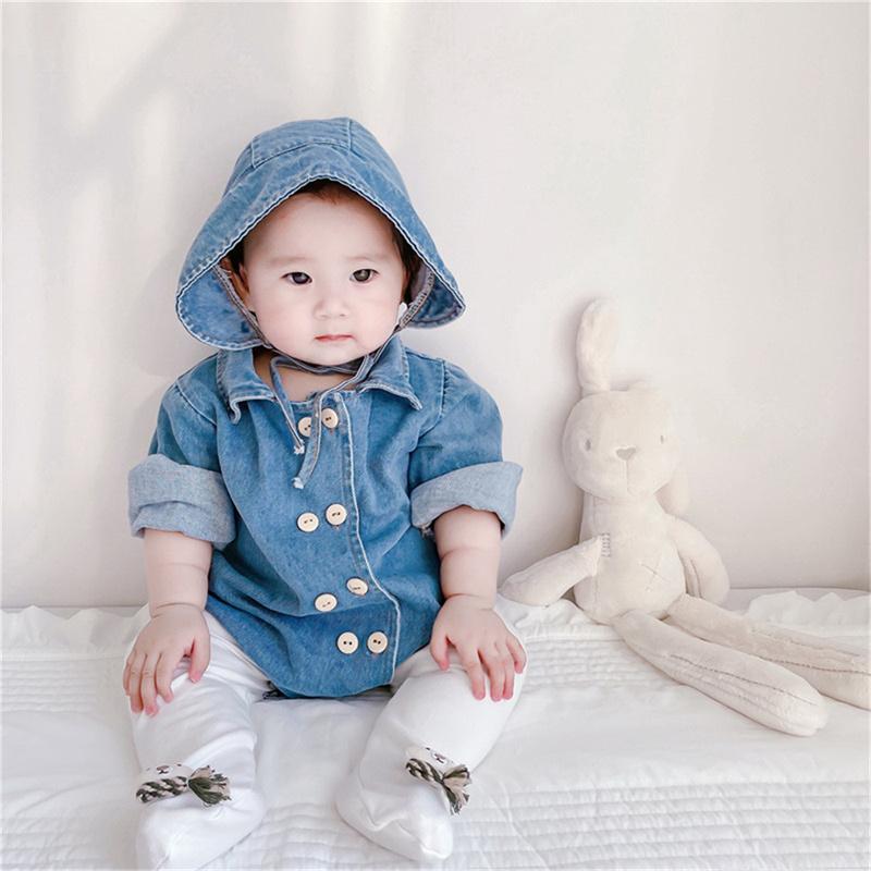 2021秋新作 韓国 子供服 女の子 男の子 春秋ベビー服 長袖ロンパース