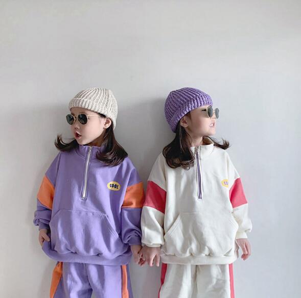 秋 新作 ブラウス+パンツ 女の子 男の子 スポーツ セットアップ 子供服 キッズ  韓国ファッション