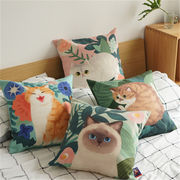 人気商品 MEWJIオリジナル 抱き枕 猫クッション<猫、ネコ、ねこ>