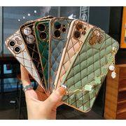 iPhone13 ケース チェーンベルト アイフォンケース メッキ加工 iPhone12promax ケース