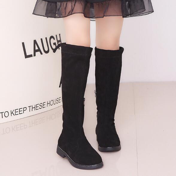 【子供靴】ブーツ シューズ 大人気 秋冬 キッズ 子供 靴 カジュアル系 女の子 韓国ファッション 3色