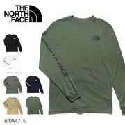 ザ・ノースフェイス【THE NORTH FACE】Men's Long Sleeve Hit Tee 長袖 ロンT ハーフドーム ロゴ US規格
