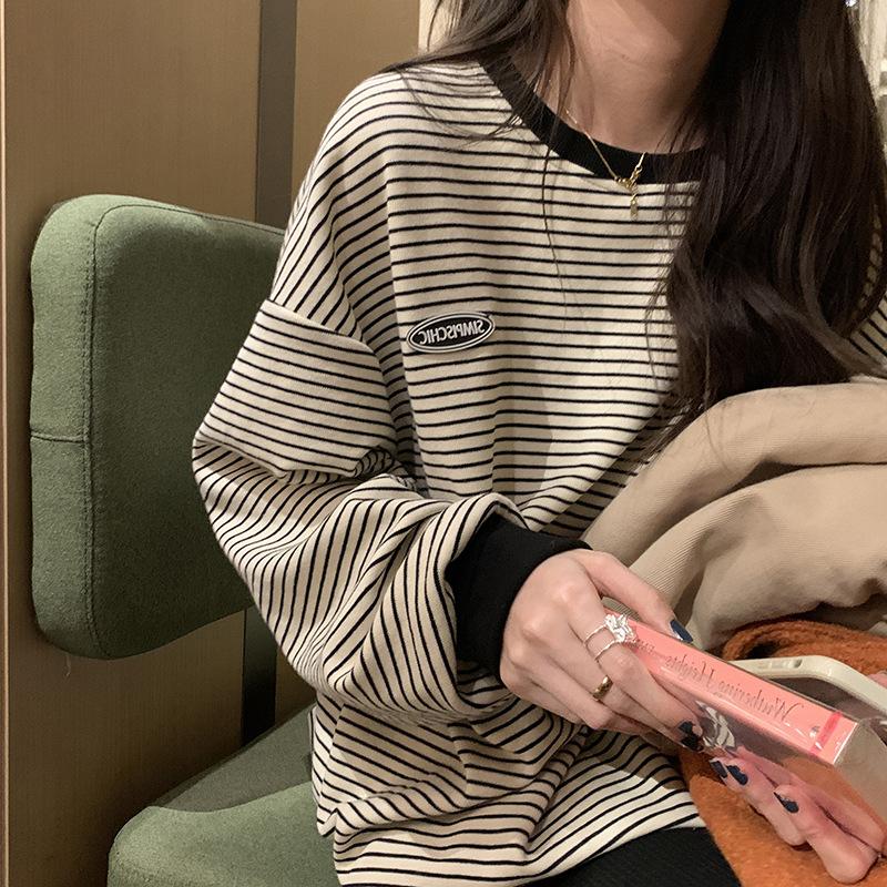 【Women】韓国風レディース服 トップス  レディース おしゃれ 長袖 トップス Tシャツ シャツ