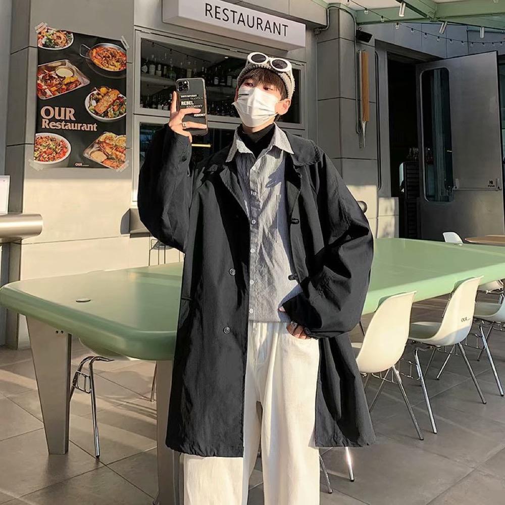 トップス アウター ジャケット 長袖 リラックス 秋新作 ゆったり メンズ 韓国ファッション