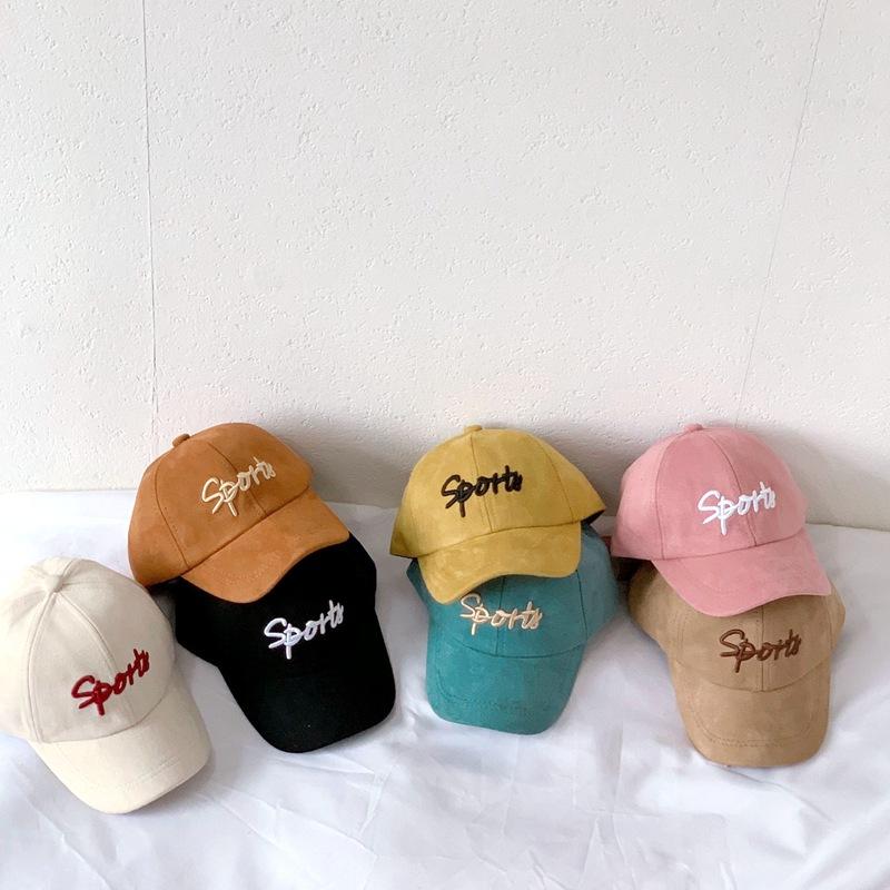 帽子 キャップ 野球帽 キッズ 子ども 秋冬 英字 カジュアル トレンド 人気