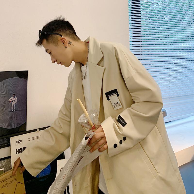 ユニセックス メンズ コート ジャケット アウター カジュアル 大きいサイズ ストリート系 ロング