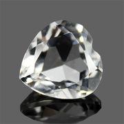 天然石 ハートダイヤモンドカットが非常に美しいクォーツ(水晶)約11CT【FOREST 天然石 パワーストーン】
