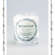 【新パッケージ】voyage ヴォヤージュ アロマキャンドル (マッチ付) ゼラニウム (geranium)