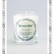 【新パッケージ】voyage ヴォヤージュ アロマキャンドル (マッチ付) ラベンダー (lavender)