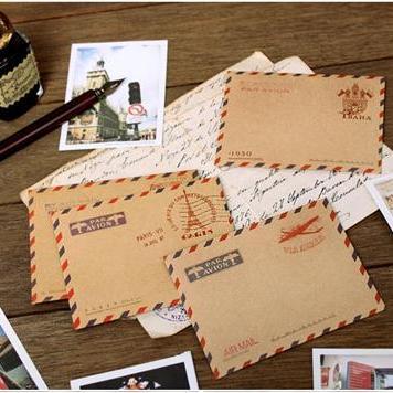 """アンティークデザインの小さな封筒!""""7321 small envelope(5セット)"""""""