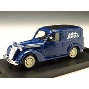 BRUMM/ブルム フィアット 1100E小型トラック Motta 50ロイヤルブルー/ブラックトップ