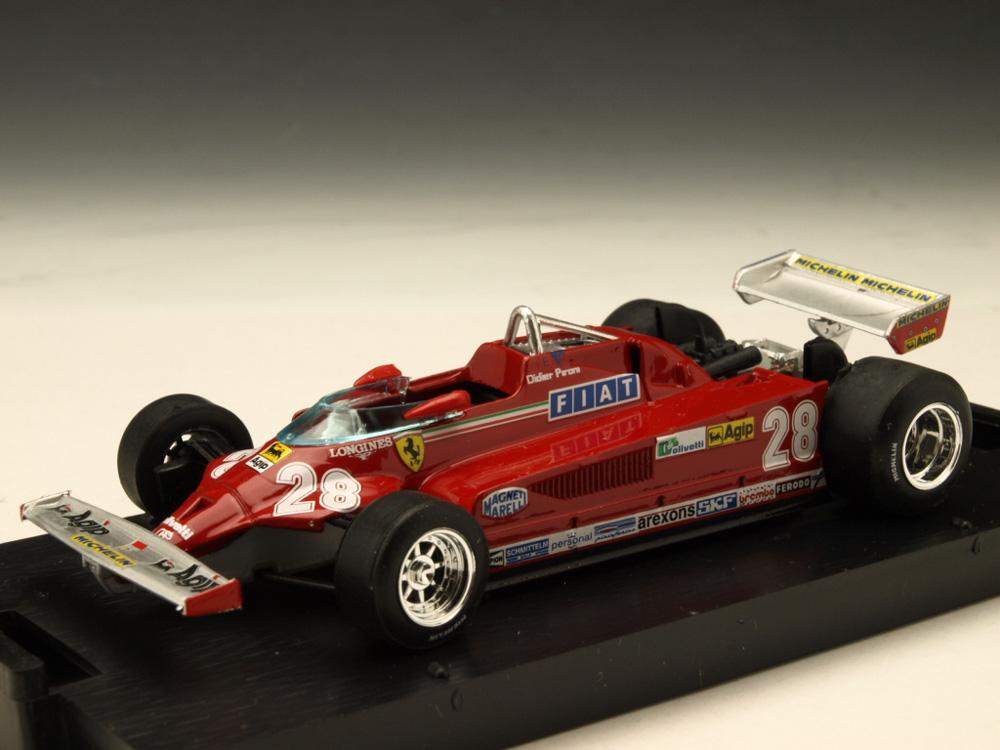 BRUMM/ブルム フェラーリ 126CK ターボ81 イタリアGP#28 D.ピローニ