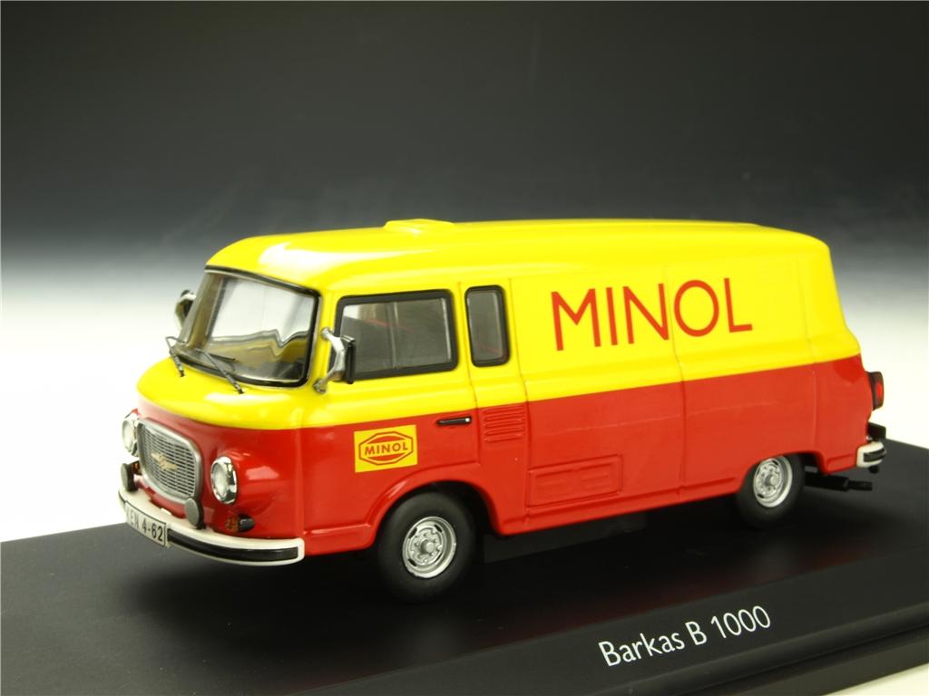 Schuco/シュコー バルカス B 1000 「MINOL」 (限定1000台)