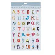 ウィンドウデコ SSサイズ (アルファベット&ナンバー)