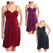 【最終売り尽くしsale】大きいサイズ☆Glamorousプリーツドレス☆2L3L4L5L☆MM1008
