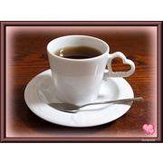 【恋するハート・シリーズ】のコーヒーカップ&ソーサー、白磁(美濃焼)の質の良い商品です。