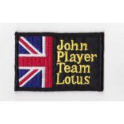 輸入ワッペン John player Team Lotus 英国旗