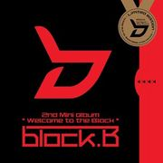 韓国音楽 Block B(ブロックビー)- Welcome To The Block [Mini Album/限定版]