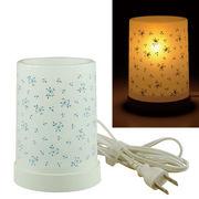 Plastic Aroma Lamp PP アロマランプ(コードタイプ) リトルフラワー:ブルー◆室内照明