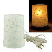 Plastic Aroma Lamp PP アロマランプ(コードタイプ) リトルフラワー:ピンク◆室内照明