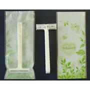 DORCOカミソリ2枚刃癒しシリーズ袋包装「日本包装加工」