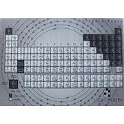 理科ハウスオリジナル 元素周期表クリアファイル3D